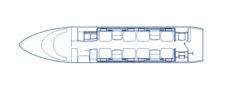 Floorplan Challenger 300