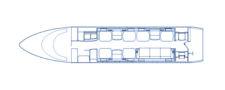 Floorplan Challenger 350