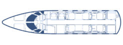 Floorplan Citation 560XLS