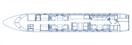 Floorplan Global 5000