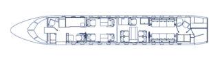 Floorplan Global Express XRS